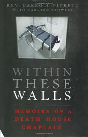 WITHIN THESE WALLS by Rev. Carroll Pickett