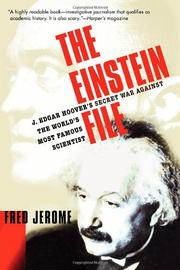 THE EINSTEIN FILE by Fred Jerome