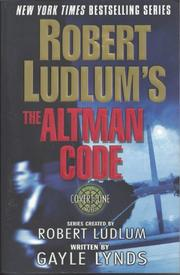 Cover art for ROBERT LUDLUM'S THE ALTMAN CODE