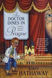 Book Cover for THE DOCTOR DINES IN PRAGUE