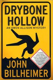 DRYBONE HOLLOW by John Billheimer
