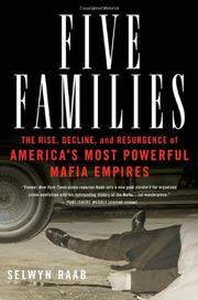 Cover art for FIVE FAMILIES