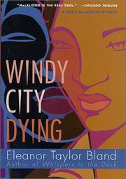 Cover art for WINDY CITY DYING