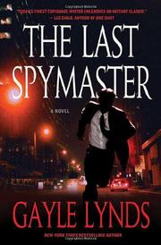 Cover art for THE LAST SPYMASTER