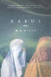 KABUL by M.E. Hirsh