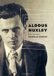 Book Cover for ALDOUS HUXLEY