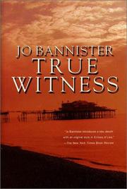 TRUE WITNESS by Jo Bannister