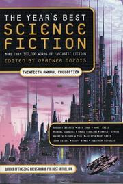 Book Cover for THE YEAR'S BEST SCIENCE FICTION