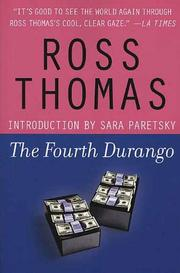THE FOURTH DURANGO by Ross Thomas
