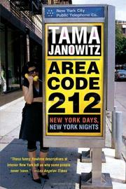Book Cover for AREA CODE 212
