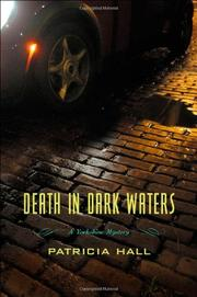 DEATH IN DARK WATERS by Patricia Hall