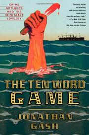 Cover art for THE TEN WORD GAME