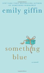 Book Cover for SOMETHING BLUE