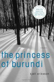 Book Cover for THE PRINCESS OF BURUNDI