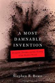 Book Cover for A MOST DAMNABLE INVENTION
