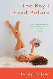 THE BOY I LOVED BEFORE by Jenny Colgan