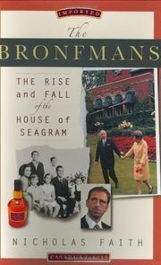 THE BRONFMANS by Nicholas Faith