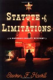 STATUTE OF LIMITATIONS by Steven Havill