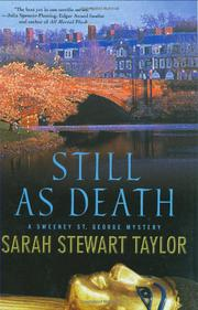 STILL AS DEATH by Sarah Stewart Taylor
