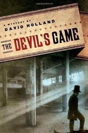 THE DEVIL'S GAME by David Holland