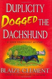 Cover art for DUPLICITY DOGGED THE DACHSHUND