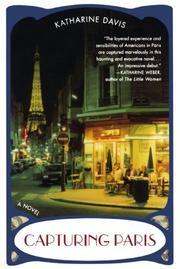 CAPTURING PARIS by Katharine Davis