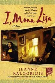 Cover art for I, MONA LISA