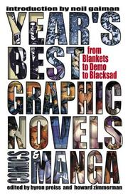 Cover art for YEAR'S BEST GRAPHIC NOVELS, COMICS, AND MANGA