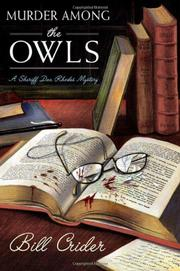 Cover art for MURDER AMONG THE OWLS