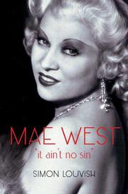 MAE WEST by Simon Louvish