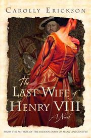 Cover art for THE LAST WIFE OF HENRY VIII
