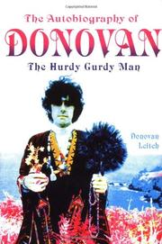 THE AUTOBIOGRAPHY OF DONOVAN by Donovan Leitch