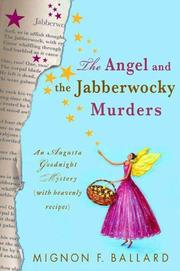 Cover art for THE ANGEL AND THE JABBERWOCKY MURDERS