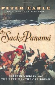 THE SACK OF PANAMÁ by Peter Earle