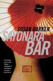 SAYONARA BAR by Susan Barker
