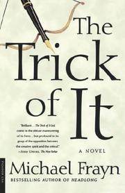 THE TRICK OF IT by Michael Frayn