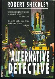 Cover art for THE ALTERNATIVE DETECTIVE