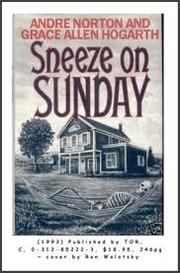 SNEEZE ON SUNDAY by Andre Norton