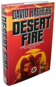 DESERT FIRE by David Hagberg