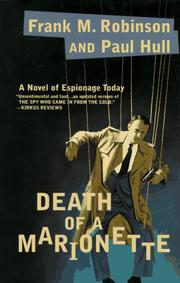DEATH OF A MARIONETTE by Frank M. Robinson