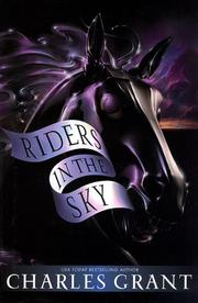 RIDERS IN THE SKY by Charles Grant