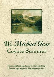 Cover art for COYOTE SUMMER