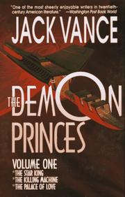 THE DEMON PRINCES, VOL. I by Jack Vance