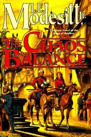 THE CHAOS BALANCE by Jr. Modesitt