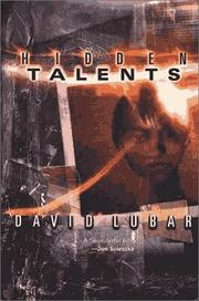 HIDDEN TALENTS by David Lubar