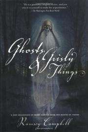 Cover art for GHOSTS AND GRISLY THINGS