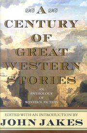 Book Cover for A CENTURY OF GREAT WESTERN STORIES