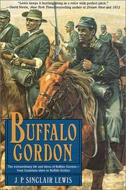 BUFFALO GORDON by J.P. Sinclair Lewis
