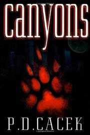 CANYONS by P.D. Cacek