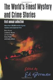 THE WORLD'S FINEST MYSTERY AND CRIME STORIES by Ed Gorman